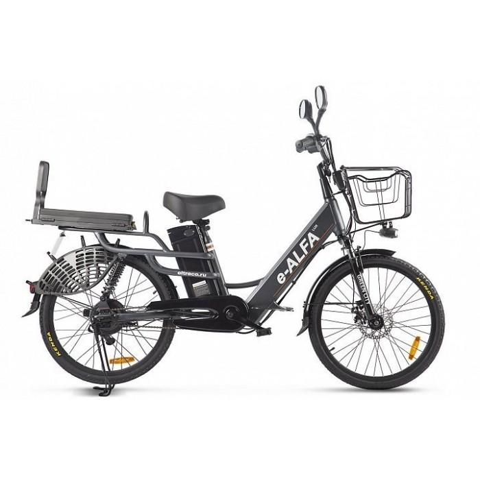 Электровелосипед GREEN CITY e-ALFA LUX