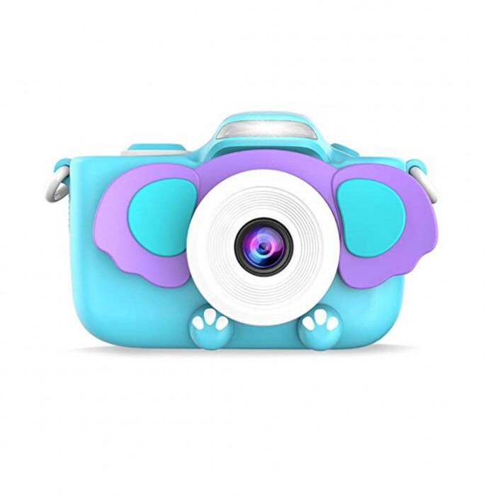 """Детский цифровой фотоаппарат с селфи-камерой """"Слонёнок"""""""