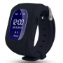 Купить недорого часы телефон с GPS для детей  Q50 черные бесплатная доставка - vigor.by