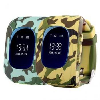 Smart Baby Watch Wonlex Q50 OLED MILITARY