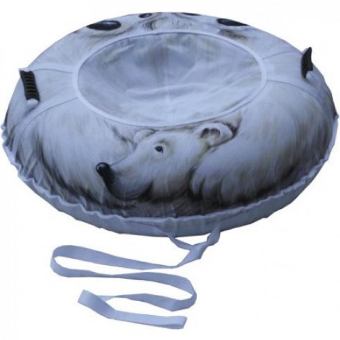 Тюбинг Митек Белый медведь 110 см