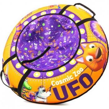 Тюбинг Cosmic Zoo UFO Тигренок