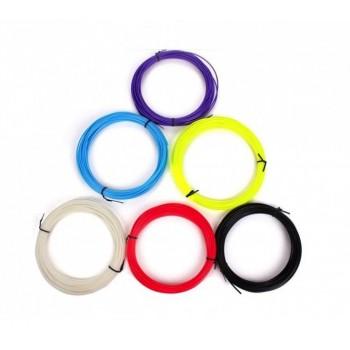 Комплект PLA-пластик 6 цветов 60м