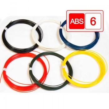 Комплект светящийся ABS-пластик 6 цветов 60м