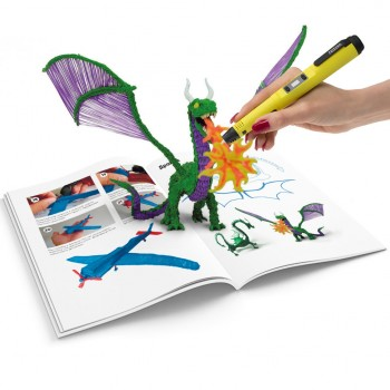 Книга с трафаретами для 3д-ручки